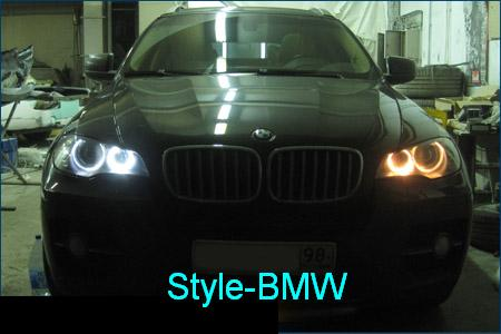foto Angel Eyes BMW E71 x6 X5 E70
